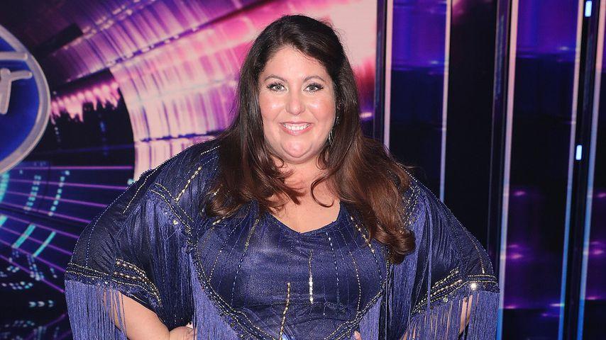 Janina El Arguioui in der 1. Liveshow von DSDS