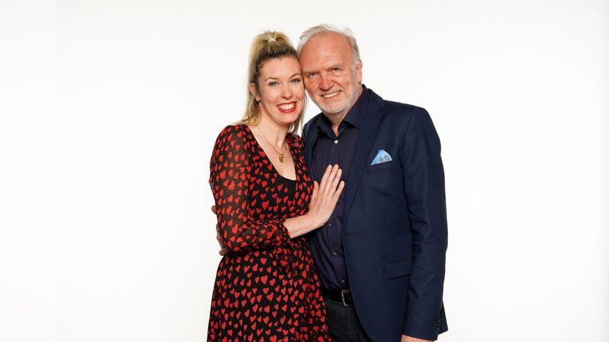 """Janina Korn und Roland Heitz, """"Das Sommerhaus der Stars""""-Kandidaten 2021"""