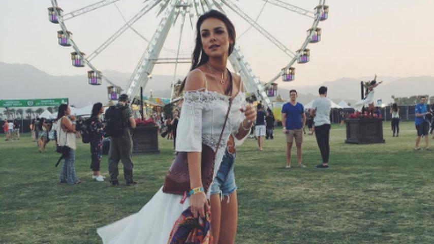 Janina Uhse auf dem Coachella