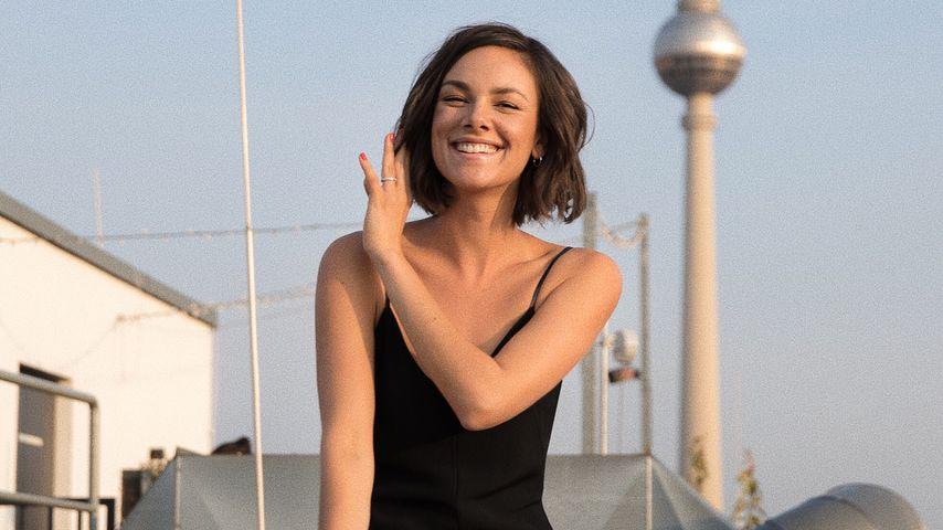 Janina Uhse in Berlin, August 2018