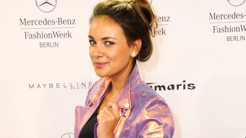 Janina Uhse und Berlin Fashion Week