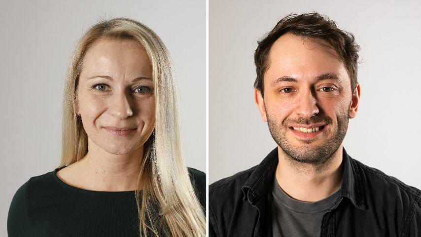 """Collage: Janina und Dennis, Kandidaten bei """"Hochzeit auf den ersten Blick"""""""