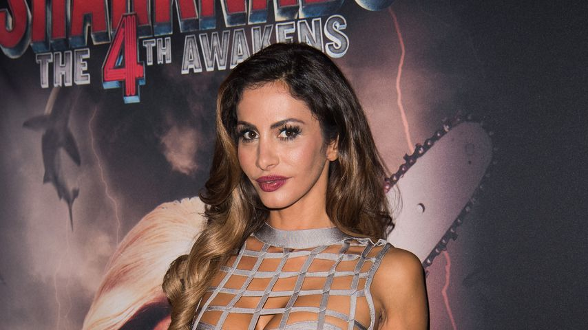 "Janina Youssefian bei der ""Sharknado – The 4th Awakens""-Premiere in Berlin 2016"