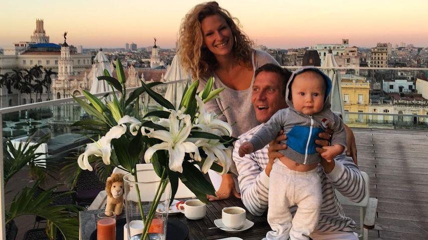 Janni Hönscheid, Peer Kusmagk und Emil-Ocean auf Kuba