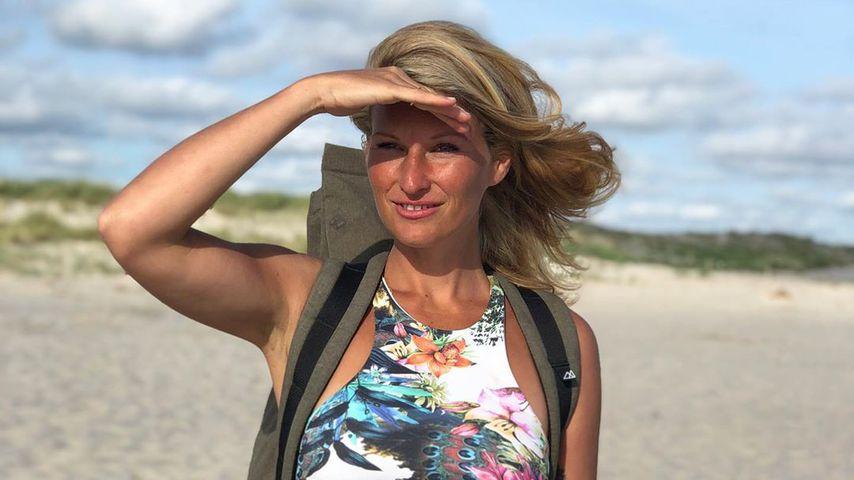 Janni Kusmagk im Juni 2020 auf Sylt