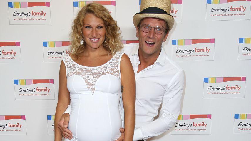Janni Hönscheid und Peer Kusmagk bei der Ernesting's Family Fashion Show 2017