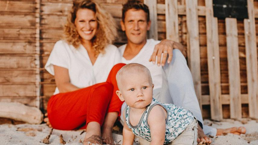 Janni und Peer Kusmagk mit Emil-Ocean