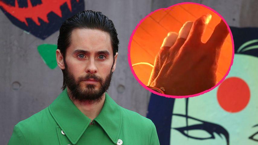 Oh Gott! Hat sich Jared Leto zwei Finger abgehackt?