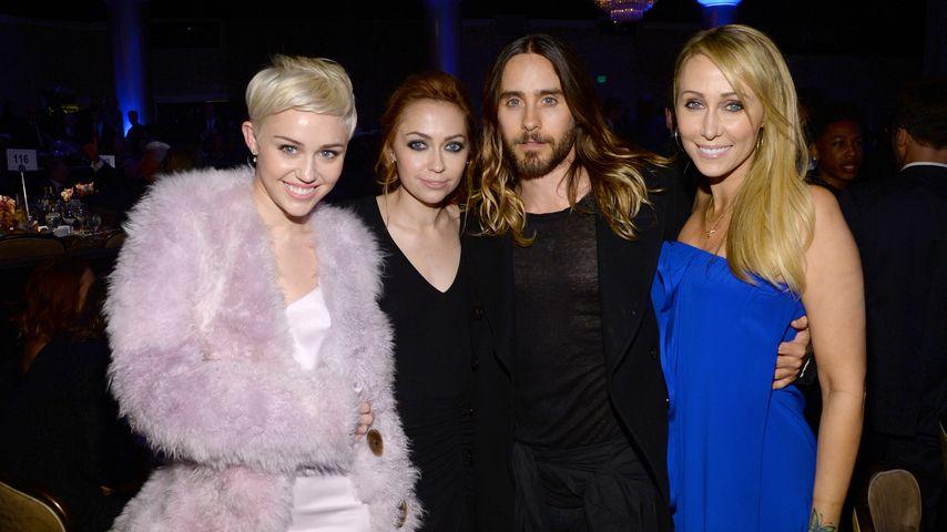 Miley Cyrus und Jared Leto