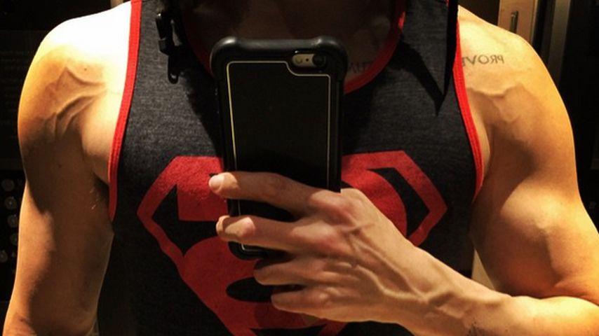 Nicht mehr mager: Jared Leto zeigt Muckis
