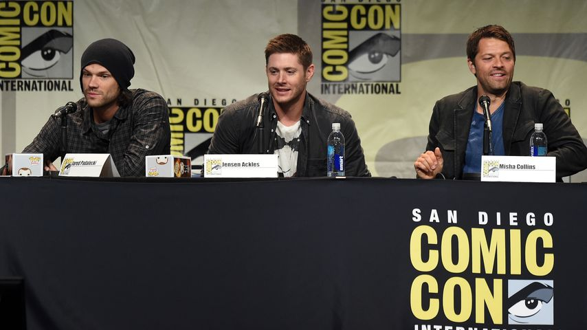 Jared Padalecki, Jensen Ackles und Misha Collins