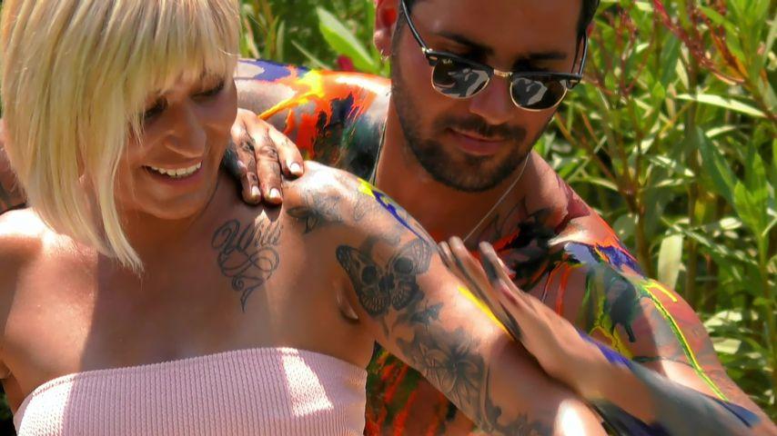 """Jasmin Herren bei einem """"Temptation Island V.I.P.""""-Date mit Filippo"""