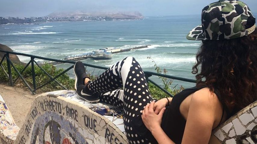 Jasmin Wagner auf ihrer Weltreise in Peru