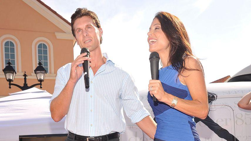 Jason Hoppy und Bethenny Frankel, 2010