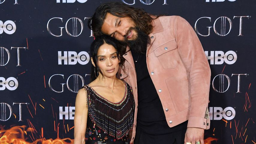 "Lisa Bonet und Jason Momoa bei der finalen ""Game of Thrones""-Staffelpremiere in New York"
