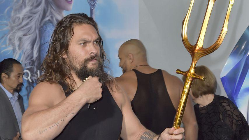 "Jason Momoa bei der ""Aquaman""-Weltpremiere in L.A. im Dezember 2018"