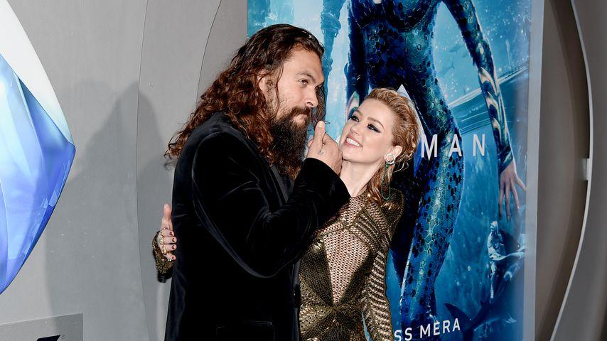 """Jason Momoa und Amber Heard bei der """"Aquaman""""-Premiere"""