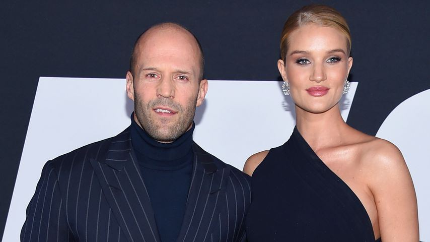 Jason Statham und Rosie Huntington-Whiteley im April 2017