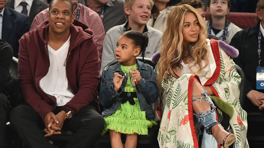 Jay-Z, Blue Ivy und Beyoncé in New Orleans, Louisiana