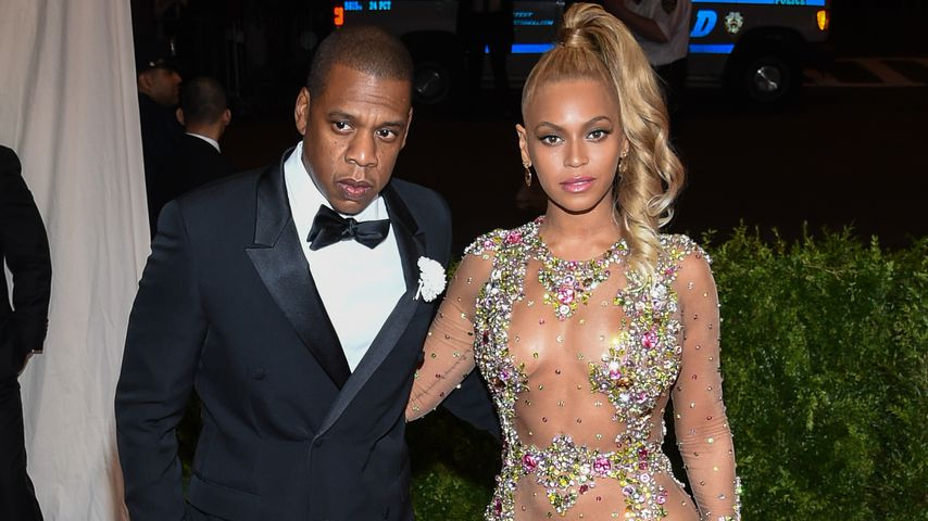 Jay-Z und Beyoncé 2015 in New York