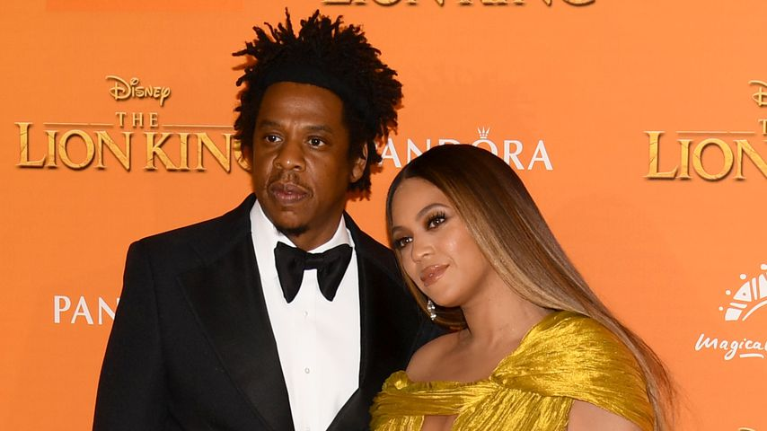 "Jay-Z und Beyoncé bei der ""The Lion King""-Premiere in London, 2019"