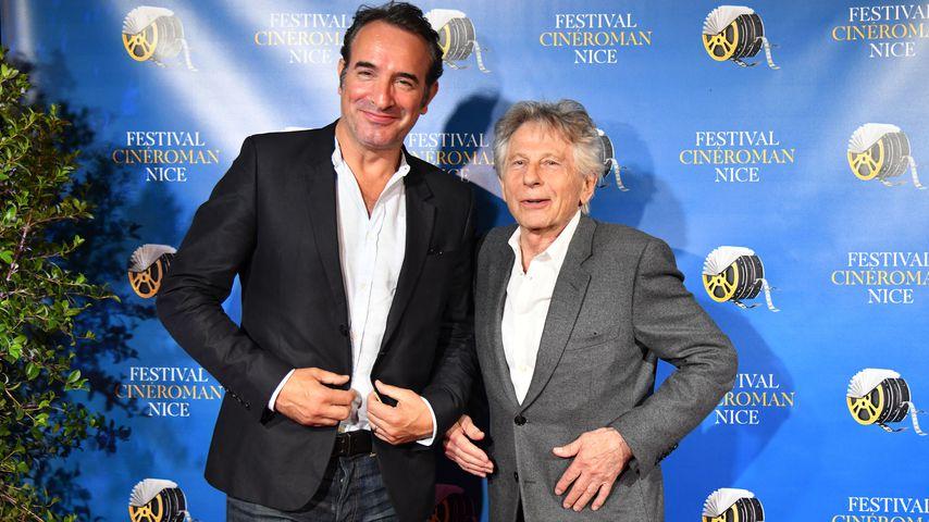 Jean Dujardin sorgt für Massenauflauf in Paris