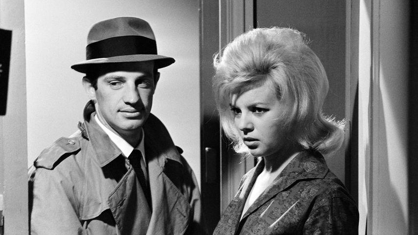 """Jean-Paul Belmondo in """"Der Teufel mit der weißen Weste"""", 1962"""