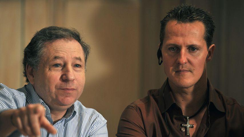 Jean Todt und Michael Schumacher 2009