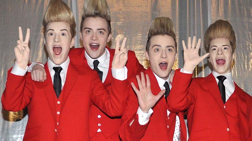 Quartett-Foto: Jedward-Twins jetzt als Vierer-Pack