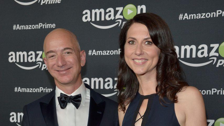 Jeff Bezos und seine Ex-Frau MacKenzie Scott