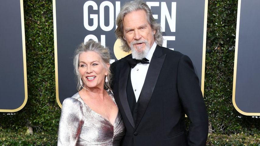 Jeff Bridges mit seiner Frau Susan Geston
