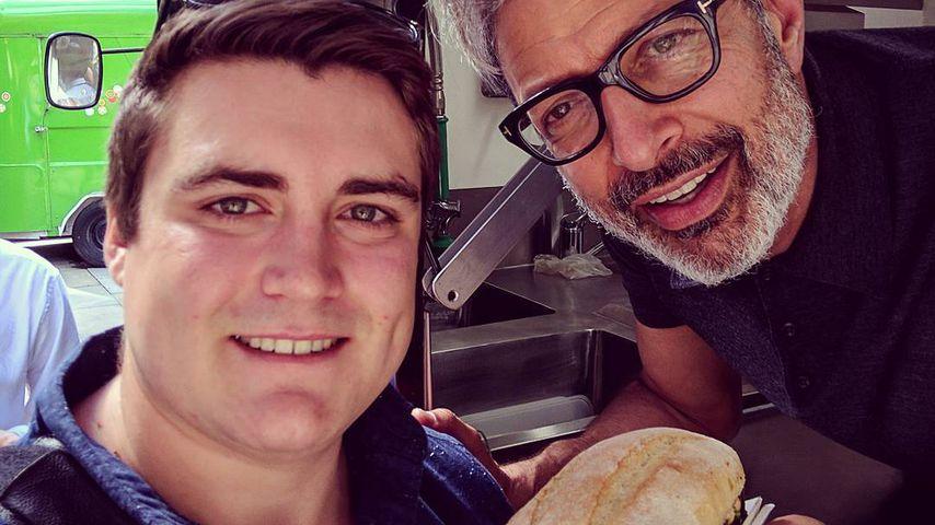Wie cool! Hollywood-Star Jeff Goldblum wird Wurst-Verkäufer