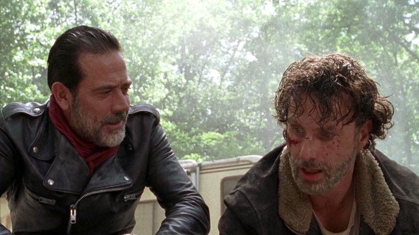 "Jeffrey Dean Morgan und Andrew Lincoln in ""The Walking Dead"""