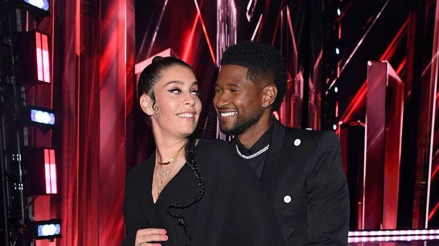 Jenn Goicoechea und Usher im Mai 2021