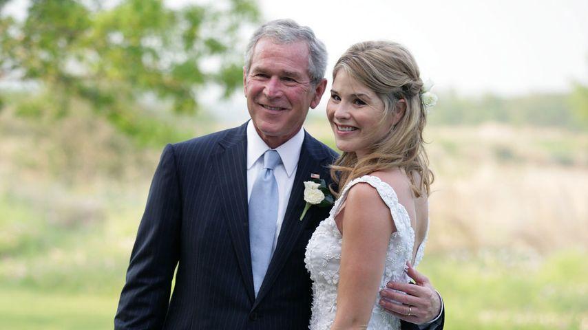 George W. Bush und Jenna Bush-Hager