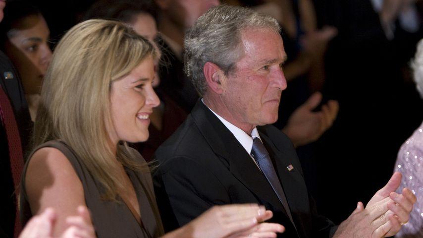 Jenna Bush-Hager und George W. Bush beim National Book Festival Gala Dinner 2008