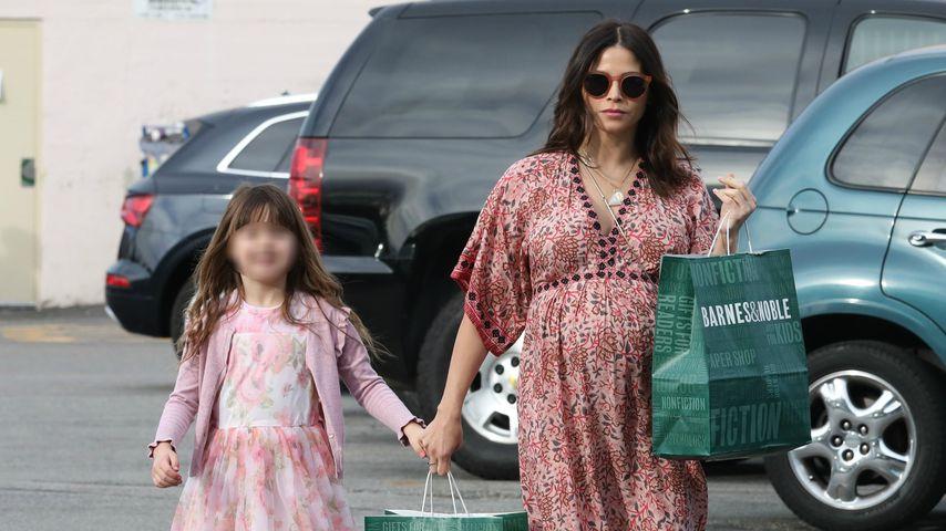 Jenna Dewan mit ihrer Tochter Everly