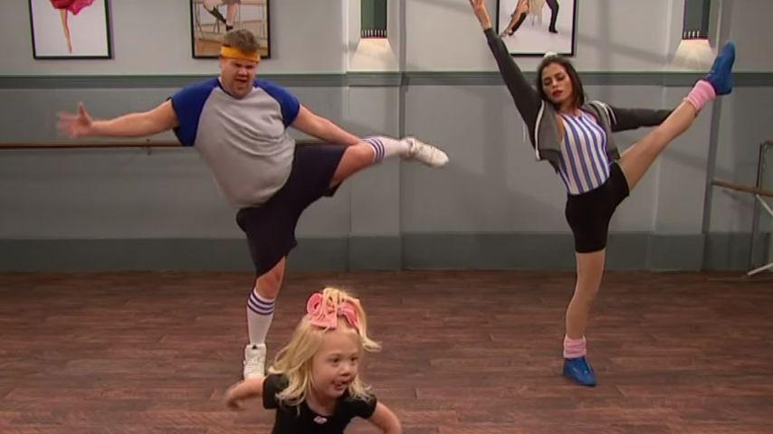 Süßes Knirps-Ballett: Jenna Dewan-Tatum tanzt mit Minis