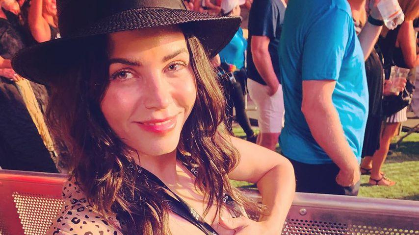 Schwangere Jenna Dewan im September 2019