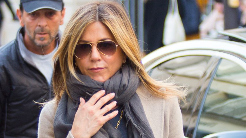 Jennifer Aniston in Paris, 2017