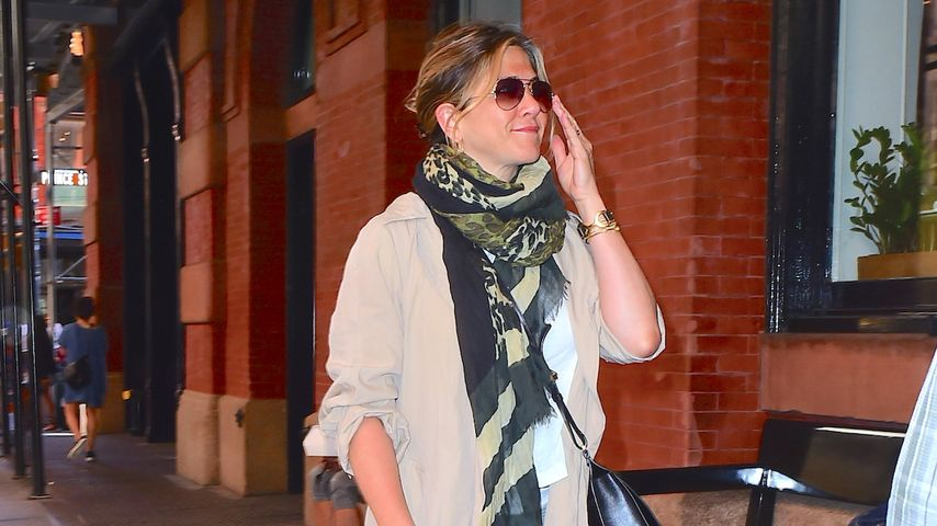 Jennifer Aniston spaziert in New York