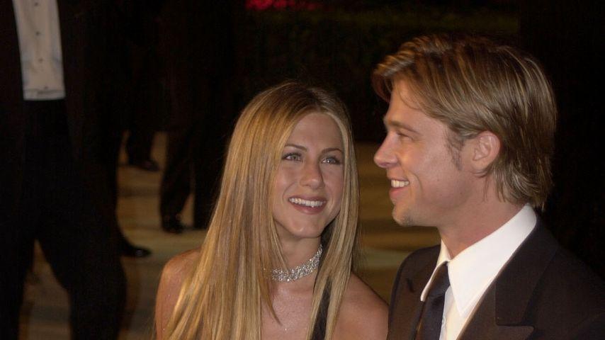 Jennifer Aniston und Brad Pitt im Jahr 2000