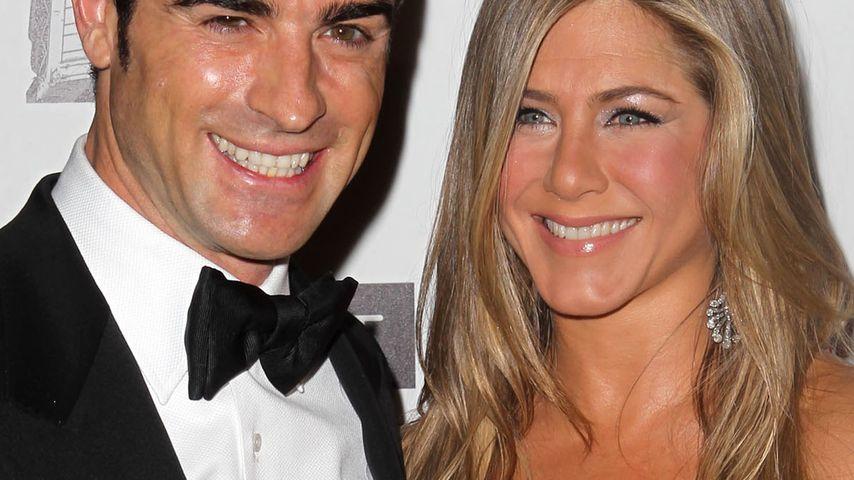 Jennifer Aniston lächelt Gerüchte einfach weg!