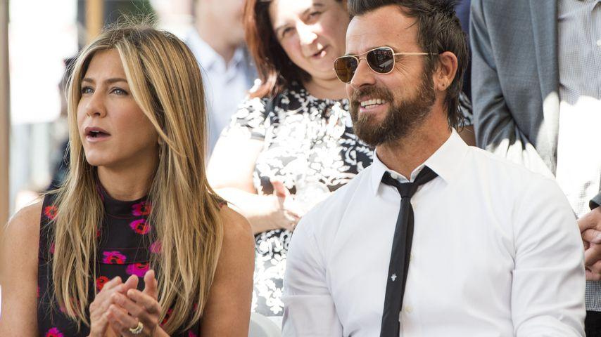 Jennifer Aniston und Justin Theroux im Juli 2017
