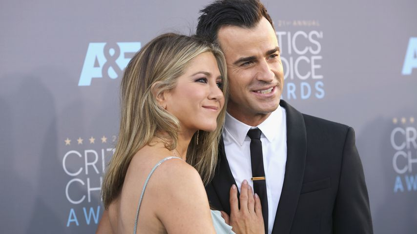 Jennifer Aniston und Ehemann Justin Theroux bei den Critics' Choice Awards 2016 in Santa Monica