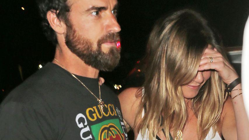 Jennifer Aniston und Justin Theroux in New York