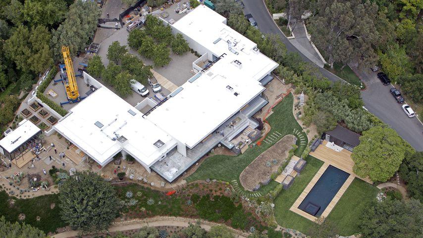 Jennifer Anistons Mansion in Bel Air
