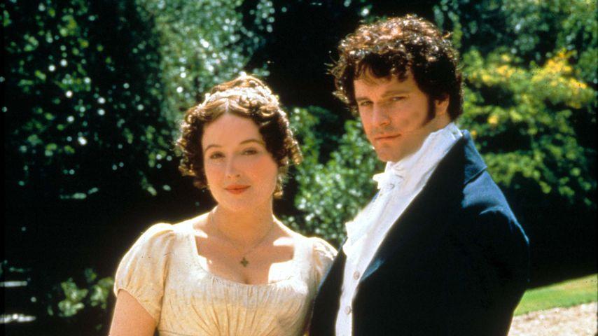 """Jennifer Ehle und Colin Firth in der Serie """"Stolz und Vorurteil"""", 1995"""