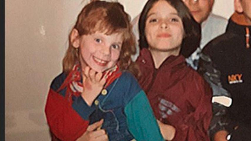 Jennifer Frankhauser und Daniela Katzenberger als Kinder