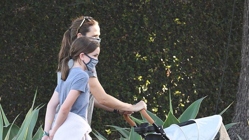 Jennifer Garner und ihre Tochter Seraphina Affleck im Mai 2020